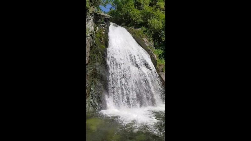 Водопад Корбу, Телецкое озеро, Выездной тренинг
