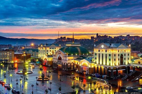 Спокойной ночи любимый город:)