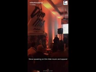 MikeShinodaLive snapchat - Dim Mak [LPCoalition]