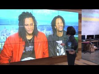 Ebony steele interviews world of dance winners les twins!