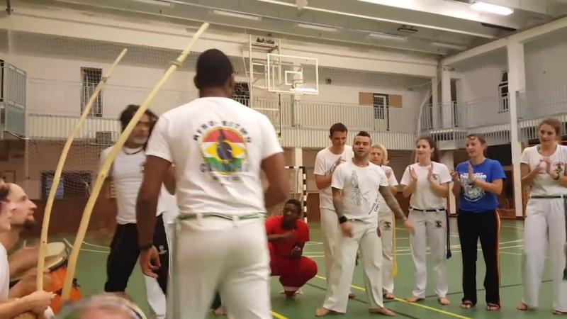 Mestre Joao (Abolicao), Mestre Gil, Marcelo Olimpio(Grupo Afro Ritmo)