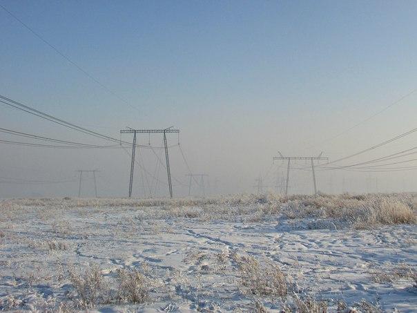 #ТипичныйКрасноярск_фото А за городом ещё снег.