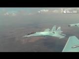 На вооружение ВКС России поступает современный истребитель Су-35С