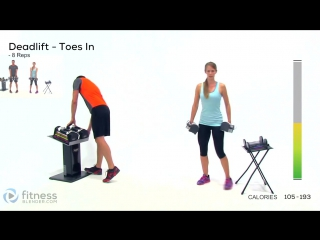Fitness Blender - 5 Day Workout Challenge to Burn Fat & Build Lean Muscle - Day 5