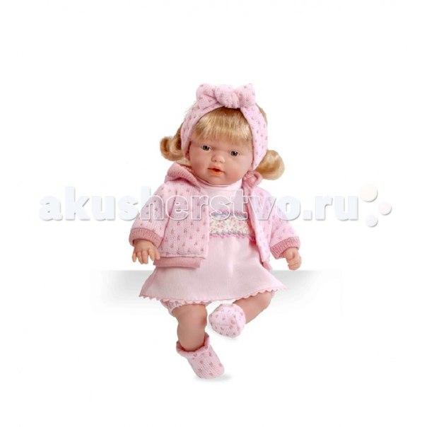 Кукла блондинка в розовой одежде 26 см, Arias