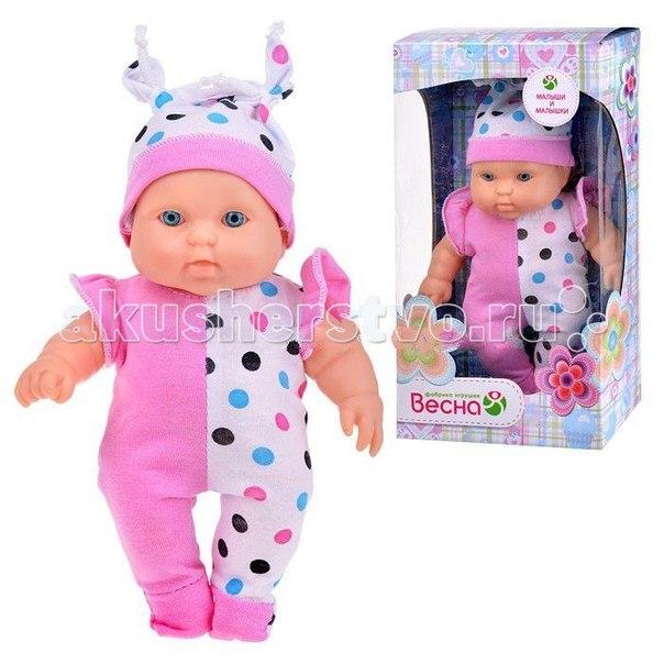 Кукла карапуз 11 девочка 24 см, Весна