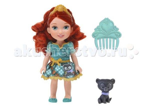Princess кукла принцессы дисней малышка с конем 15 см, Disney