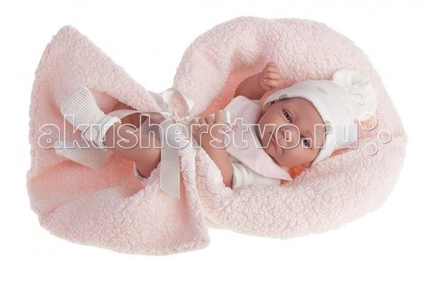 Кукла-младенец оливия в розовом 42 см 5062p, Munecas Antonio Juan