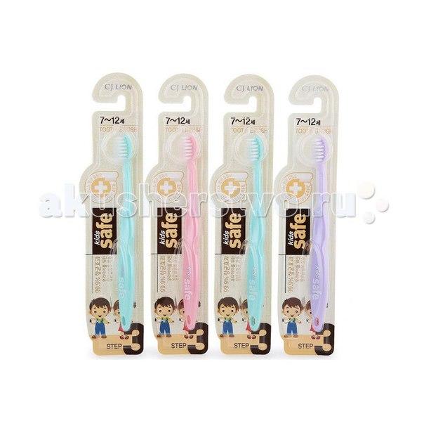 Зубная щетка детская kids safe с нано-серебряным покрытием №3, CJ Lion