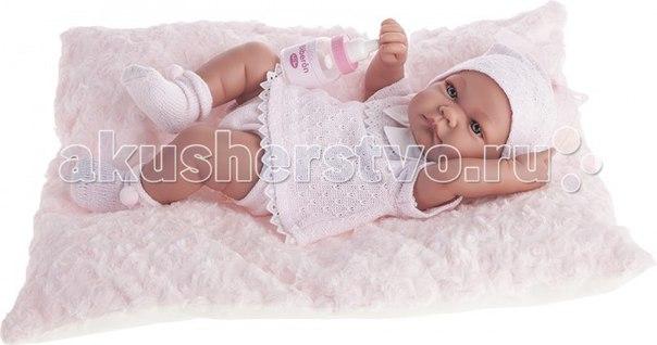 Кукла-младенец ника в розовом 42 см 5054p, Munecas Antonio Juan