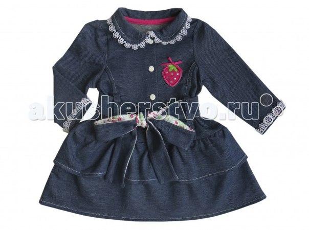 Платье джинсовый садик, Soni Kids