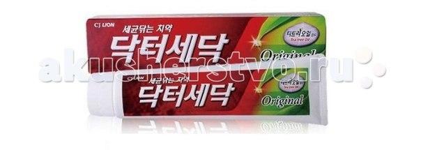 Зубная паста dr. sedoc original c маслом чайного дерева 140 г, CJ Lion
