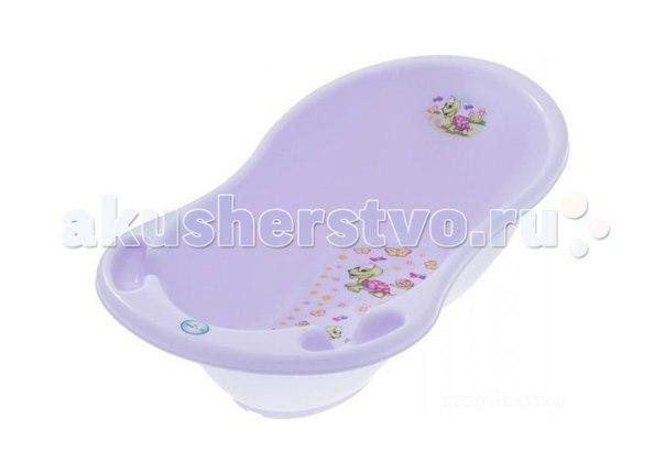 Ванночка для купания веселая черепаха 102 см, Tega Baby