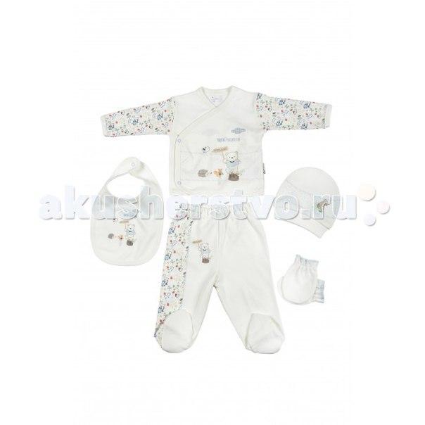 Подарочный набор для новорожденного (5 предметов) bbtf-786, Bebitof Baby
