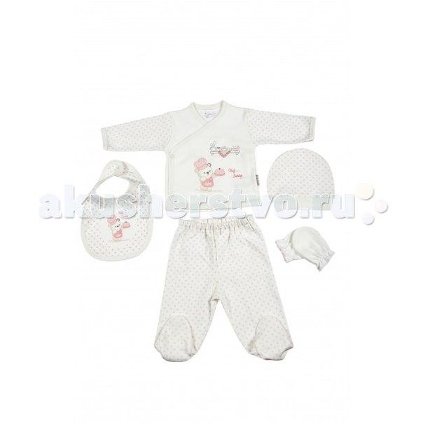 Подарочный набор для новорожденного (5 предметов) bbtf-782, Bebitof Baby
