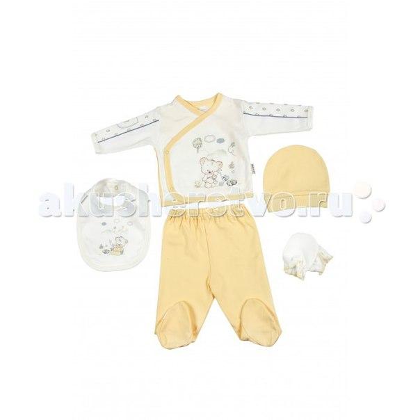 Подарочный набор для новорожденного (5 предметов) bbtf-780, Bebitof Baby