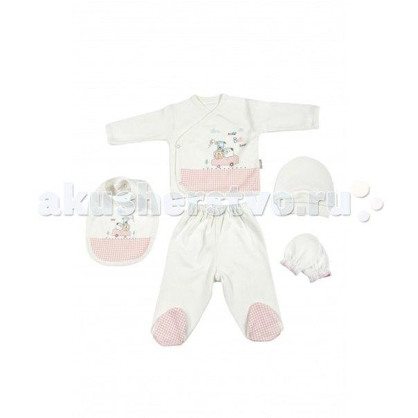 Подарочный набор для новорожденного (5 предметов) bbtf-776, Bebitof Baby