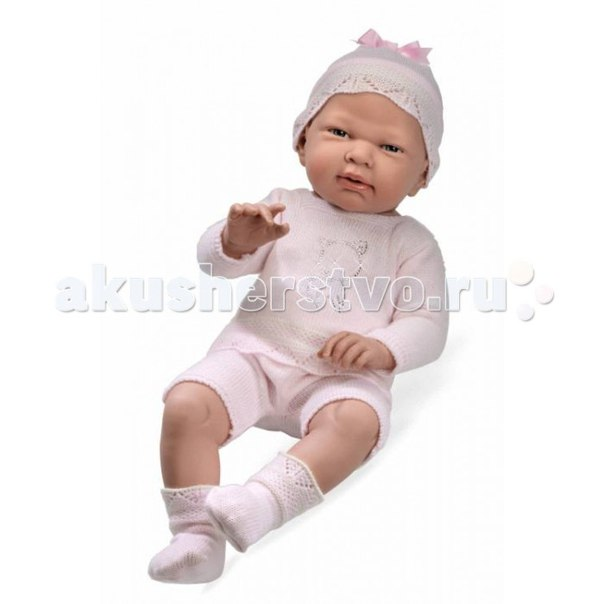Кукла-пупс в костюмчике со стразами swarowski 52 см, Arias