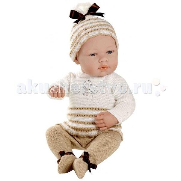 Кукла-пупс в костюмчике со стразами swarowski 42 см, Arias