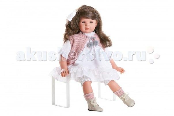 Кукла даниэла в воздушном платье и розовом жилете 60 см, Dnenes/Carmen Gonzalez