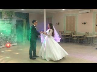 Первый медленный танец жениха и невесты.Хореограф Мария Дынжанская