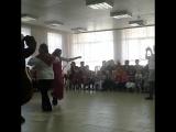 Цыганочка вместе с Машей и Медведем )) в социально-реабилитационном центре для несовершеннолетних Азовского района