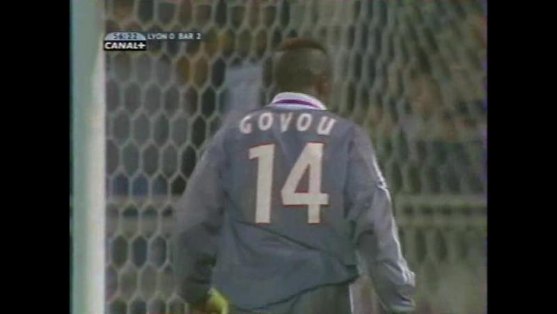 148 CL-2001/2002 Olympique Lyon - FC Barcelona 2:3 (23.10.2001) HL