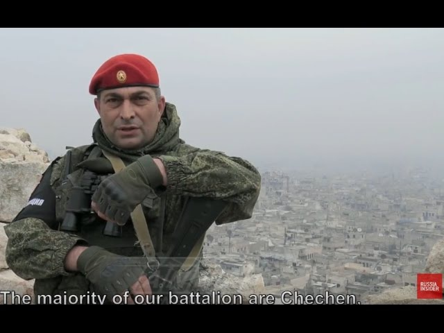 Russian Report on Russia's Chechen Soldiers in Syria
