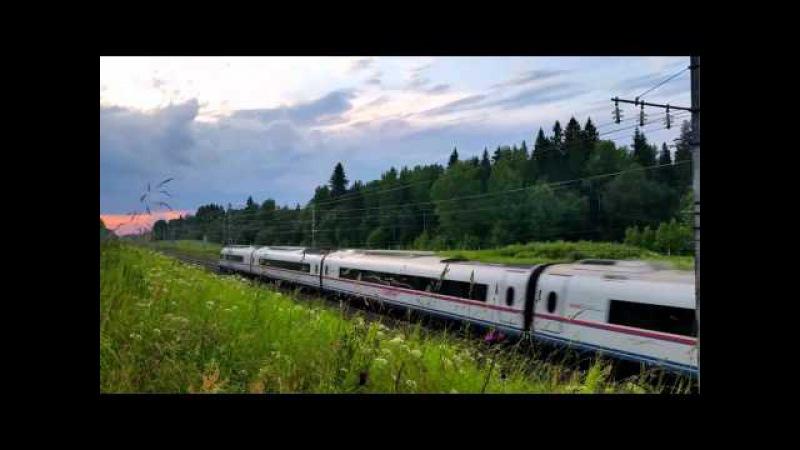 Russian high-speed train Российские скоростные поезда