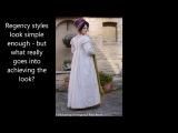 Dressing up a regency lady