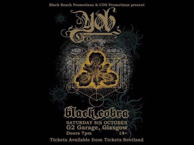 Yob US Live at G2 Garage Glasgow 8th October 2016 FULL SHOW HD