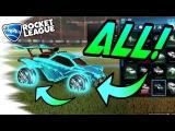 Rocket League Trading - ALL PAINTED DRACO WHEELS Showcase! (Nitro Crate, Titanium White, Crimson)