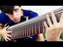 15 СТРУН В ДЕЙСТВИИ   СОЛО НА БАСС ГИТАРЕ   15 струнная гитара