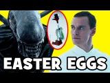Alien Covenant EASTER EGGS &amp Things You Missed