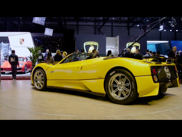 Pirelli Color Edition at 2017 Geneva Motorshow