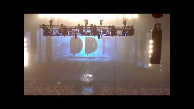 DDT - История звука, Москва 05.03.2017 (19:34 мск) Весь концерт