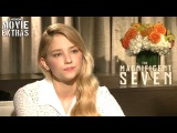 The Magnificent Seven (2016) - Haley Bennett talks about their experience making the movie