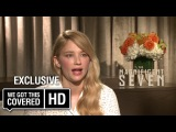 Exclusive Interview Haley Bennett Talks The Magnificent Seven HD