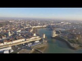 Marathon La Rochelle vu du ciel