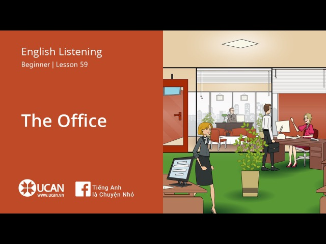 Learn English Listening | Beginner - Lesson 59. The office