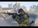 Грузины гонят русских вояк пинками под зад