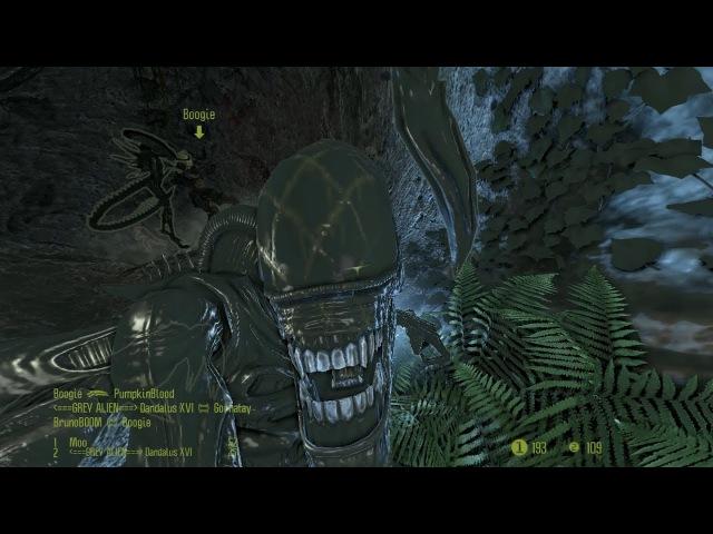Mixed Species Team Deathmatch, Alien Gameplay - Multiplayer, Aliens vs Predator 2010