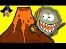 Игра Съедобная планета 3 прохождение Глазастик съел ВУЛКАН! Динозавры в ШОКЕ! м ...