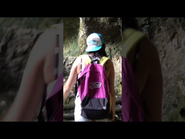 Выходной день часть вторая. Путь на водопад Пасть Дракона.