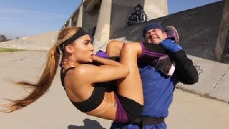 Tess Kielhamer vs Karate Guy Fight Scene Kung Fu BJJ vs Karate Black Belt