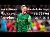 Marc-Andre ter Stegen●BEST SAVES 2016-2017●ALL SEASON