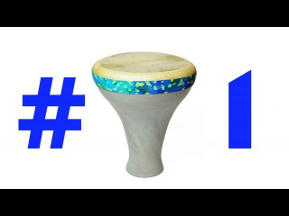 Making a Clay Bass Ceramic Drum Part 1: Throwing & Glazing - Pottery & Music