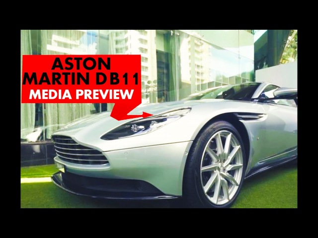 Aston Martin DB11 : Media Preview : PowerDrift