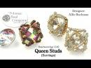 Queen Studs Earrings Tutorial