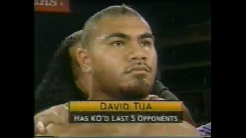 David Tua vs David Izonritei 21/12/1996
